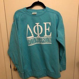 Sweaters - Delta phi epsilon crewneck sweatshirt